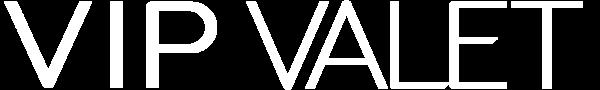 VIP Valet white logo